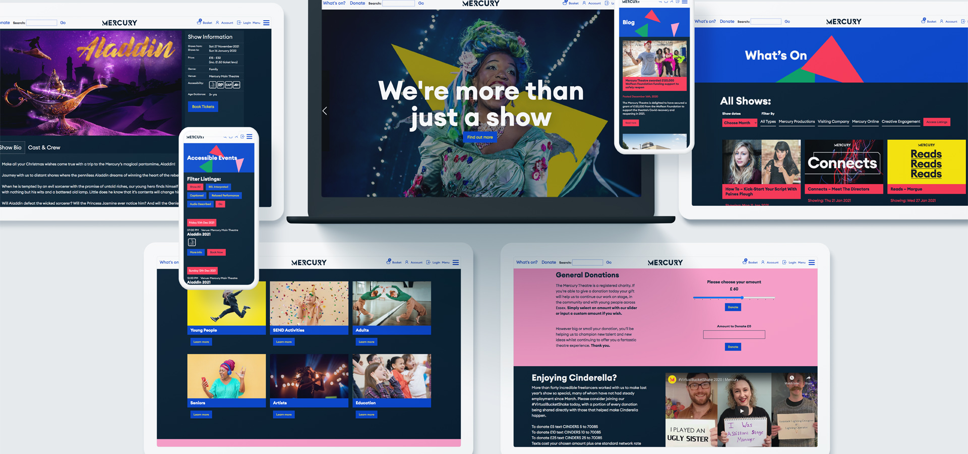 Raising the curtain on what makes a great theatre website