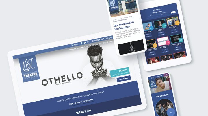 Web design for theatres – what's needed for the perfect performance?